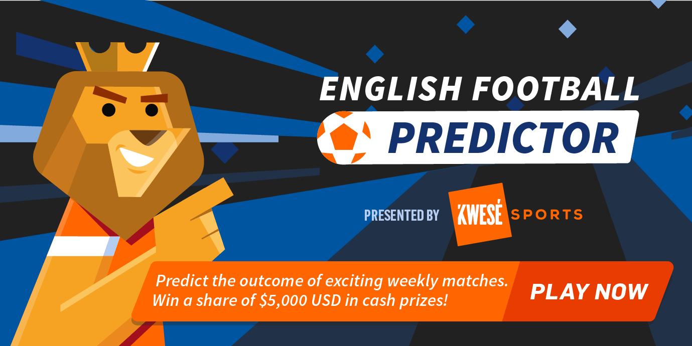 Kwesé English Football Predictor