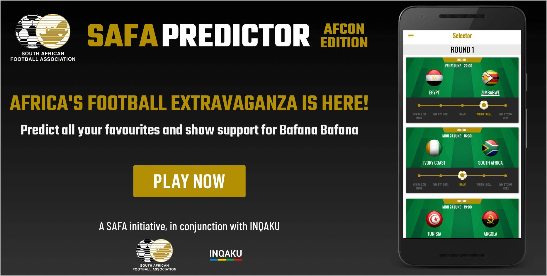 SAFA Predictor  - AFCON Edition