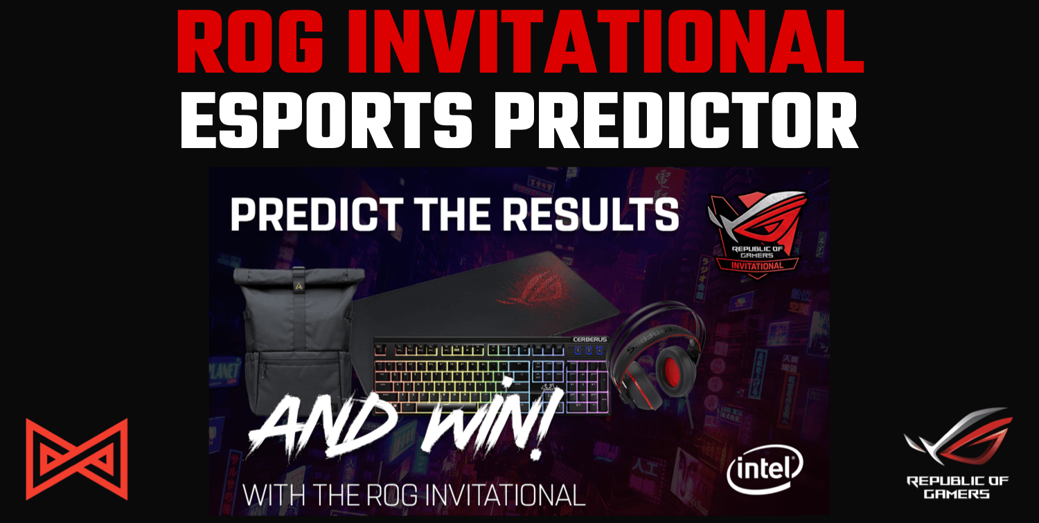 Esports Predictor - ROG Invitational