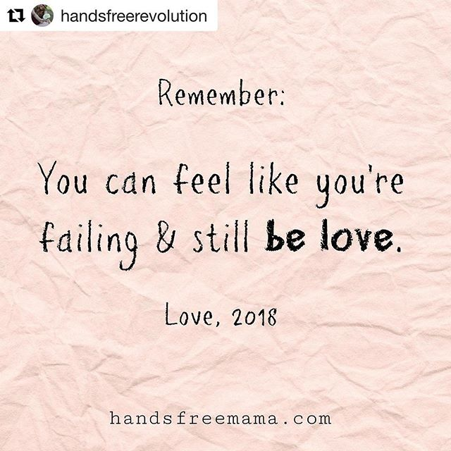 ❤️ Your baby only sees you and your love, not the mistakes and failures you see in yourself. ❤️ . @handsfreerevolution . . . #thesleepingchild  #parenting4sleep  #lifelongparent  #familygoals  #normalizeinfantsleep  #babyadvocate #newborn  #babysleeping  #toddlersleep #momlife #dadlife  #naps #bedtime  #attachmentparenting  #positiveparenting  #respectfulparenting  #sleepexpert ... is you  #sleeptraining for parents #antisleepconsultant #sleepconsultant #sleepcoach  #parentcoach  #fedisbest #breastfeeding #babywearing #kariernstwright