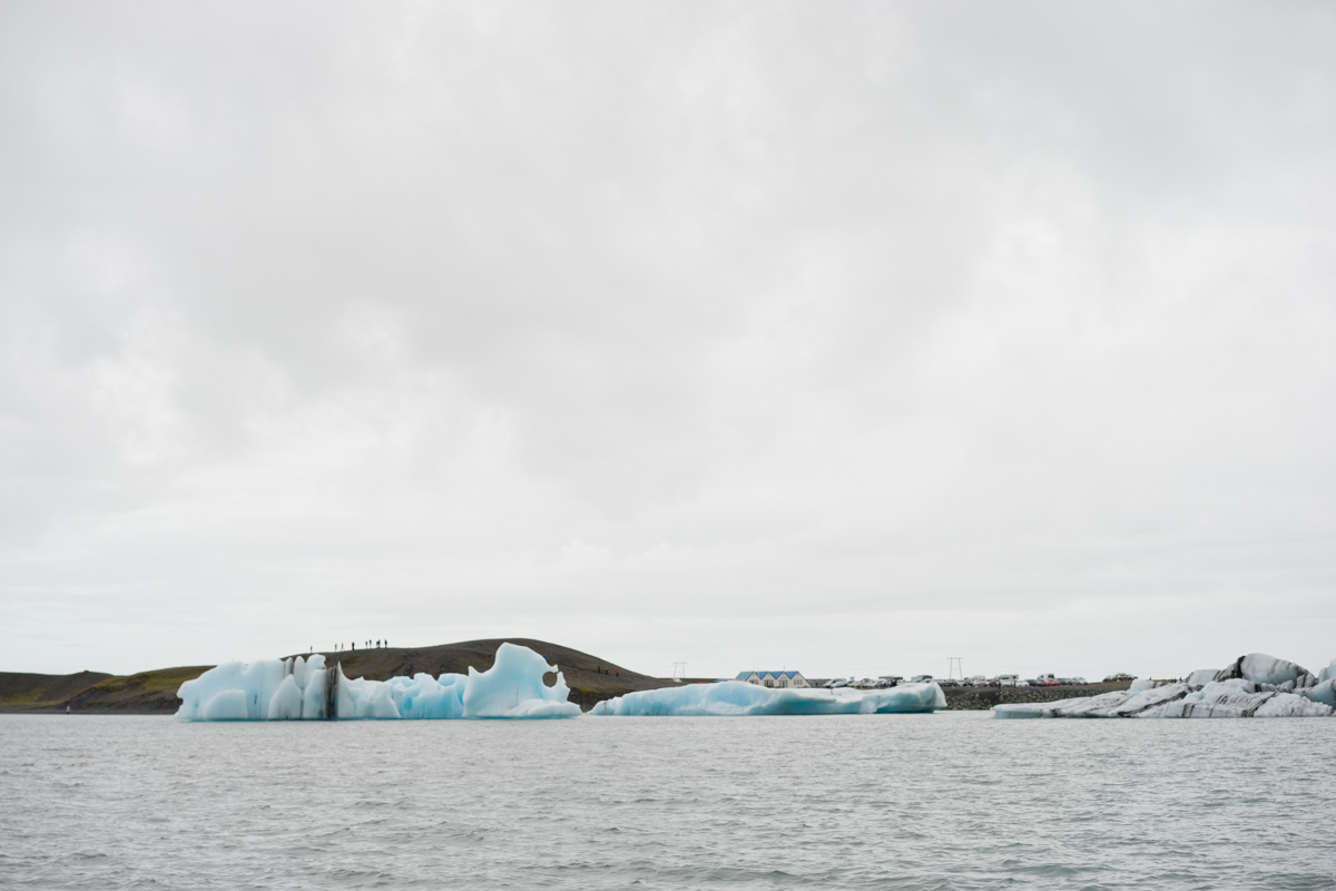 We paid $50 to take a 30 minute boat ride around these glaciers. Worth it? Eh, probably not.
