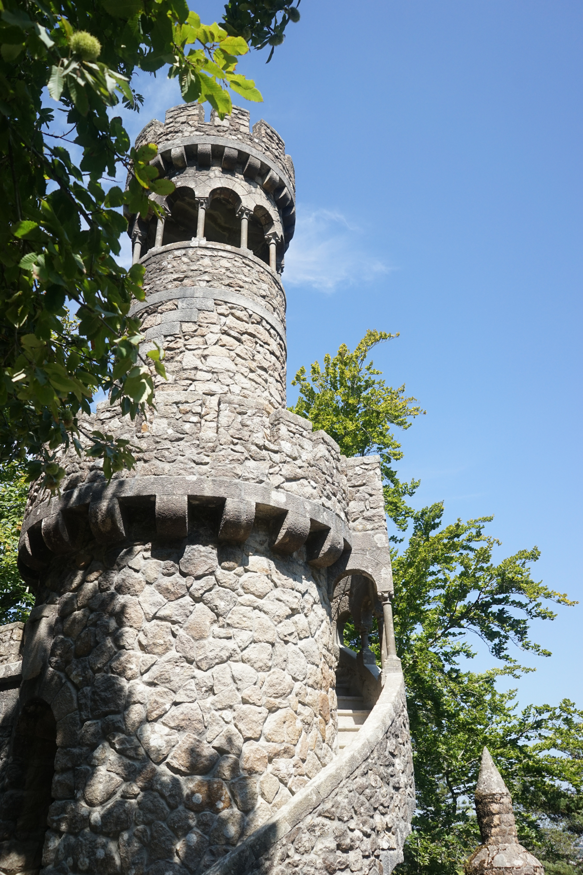 One of the castles at Quinta de Regaleira