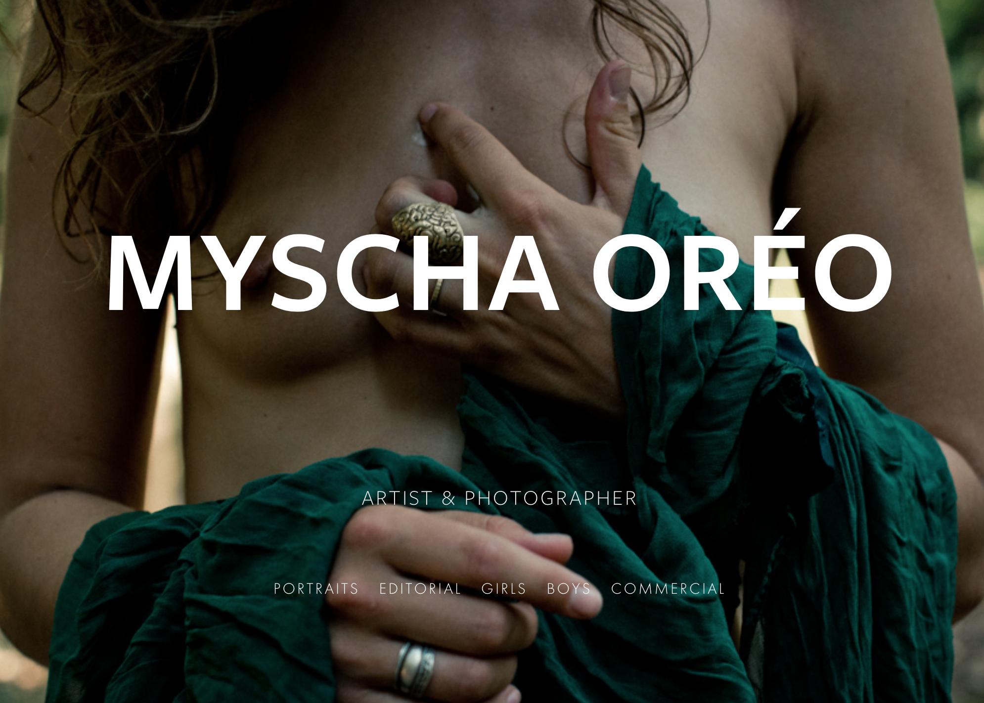 Myscha Oréo, artist & photographer