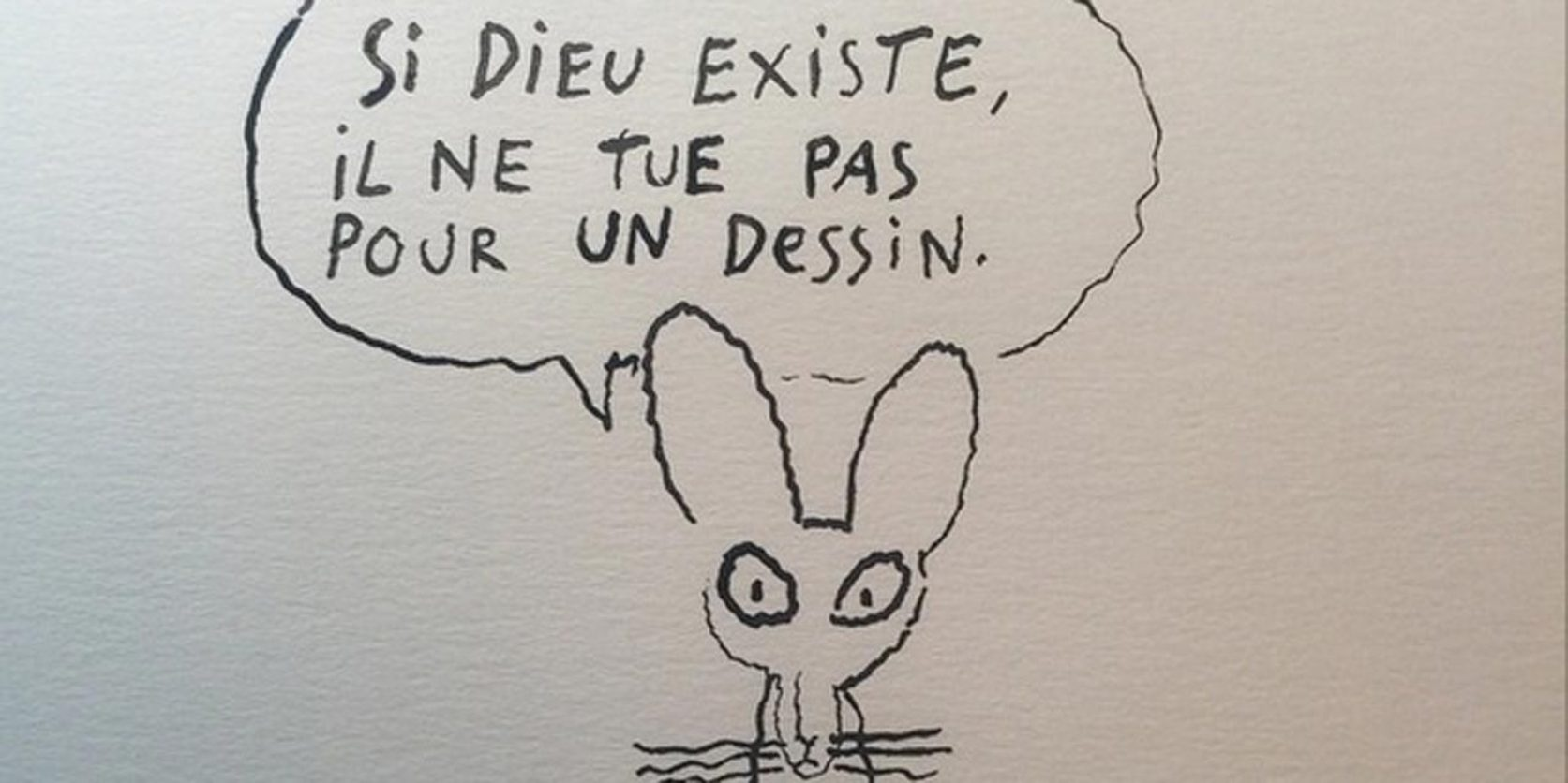 A cartoonist reacts. Joann Sfar/Instagram