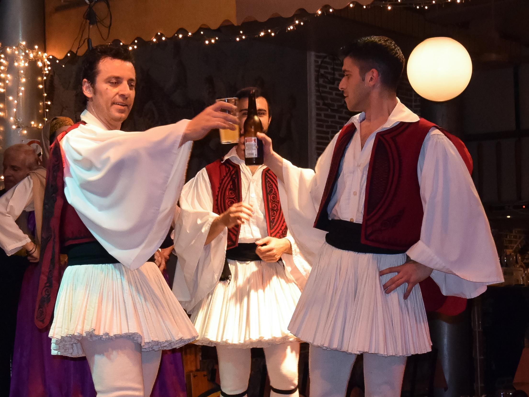 Tsamikos dance.