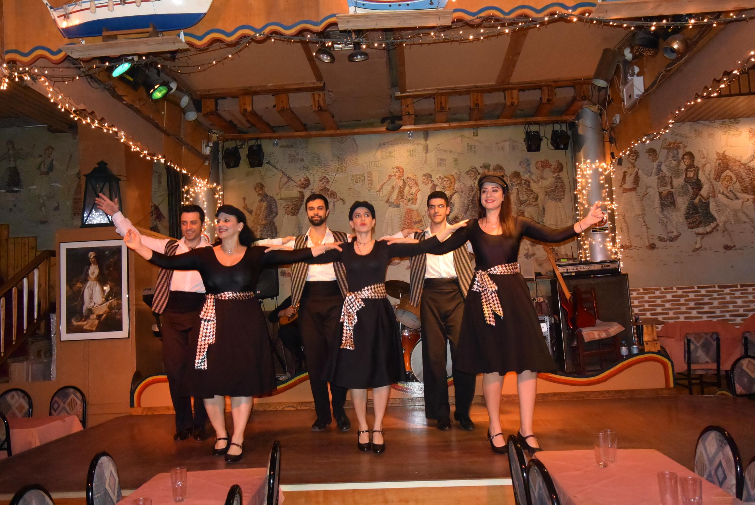Chasapiko danced by women