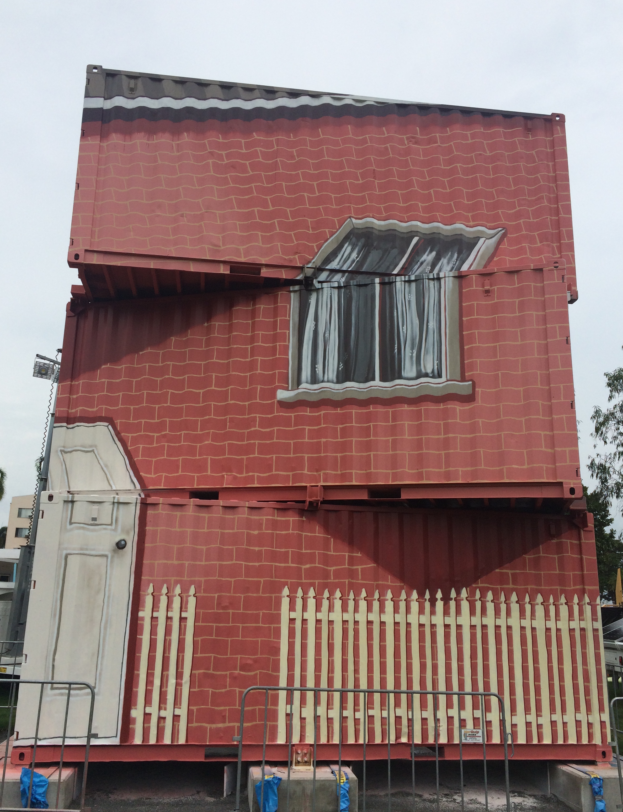 'Big House Wonky Window'  Uncontained Festival, Townsville   March, 2018