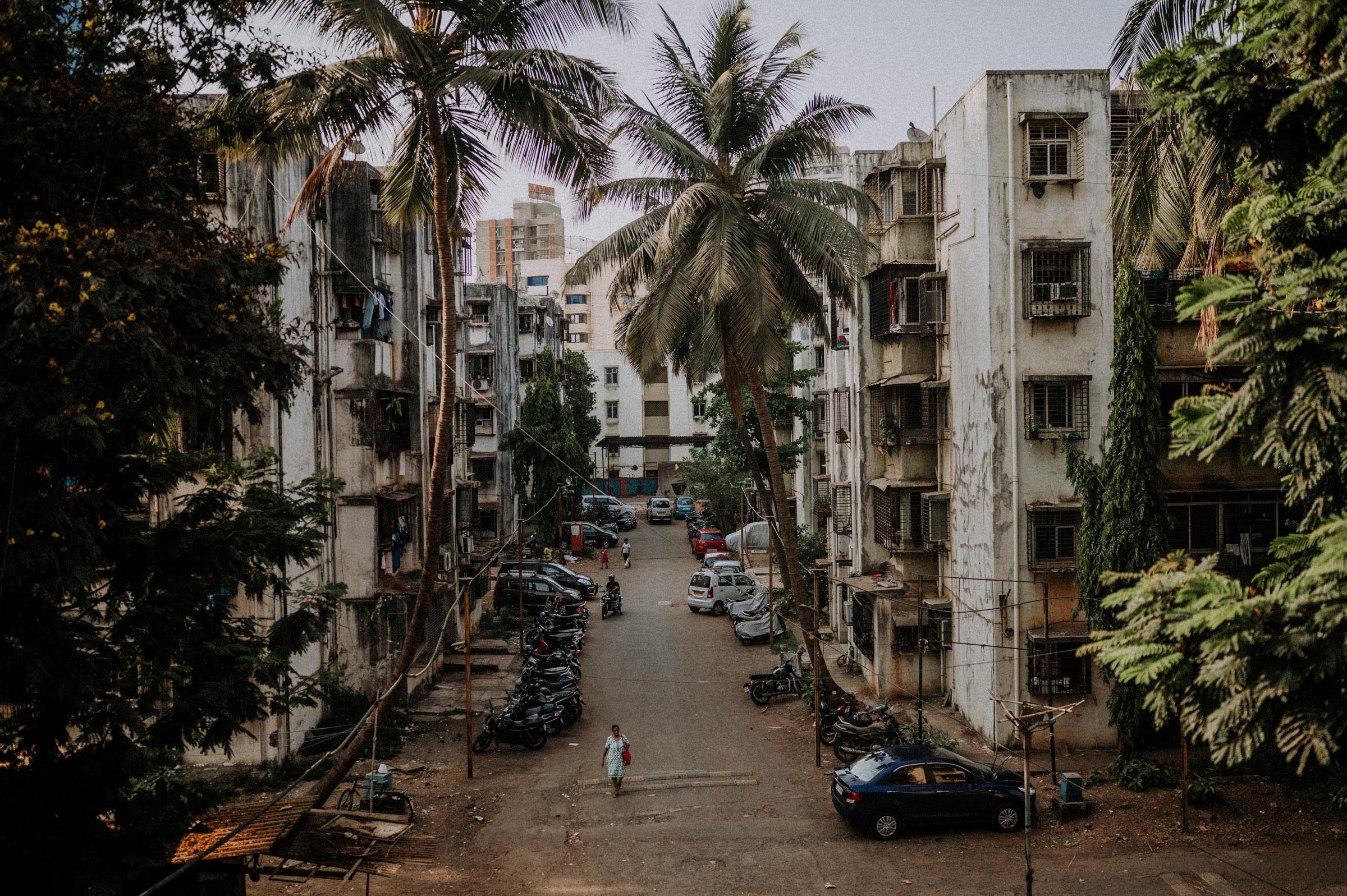 in den Strassen von Mumbai