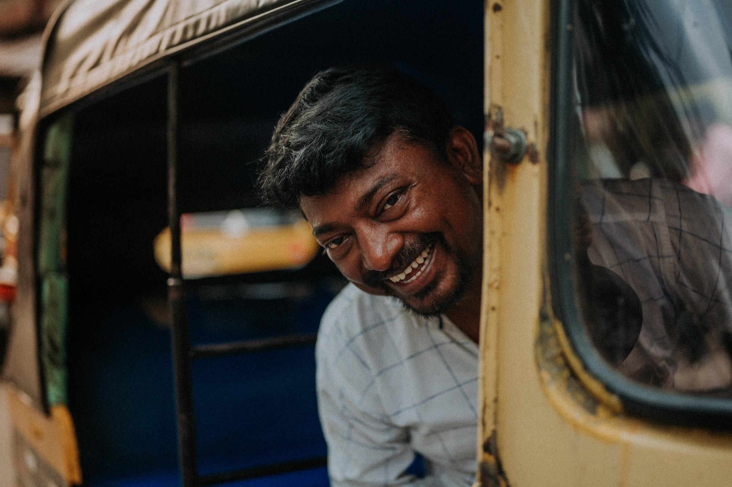 Rikschafahrer in Mumbai und Bombay