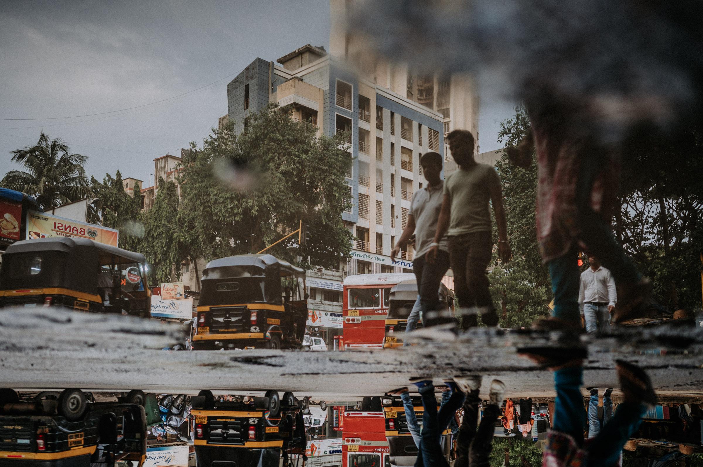 Regenzeit in Mumbai Fotoreportage