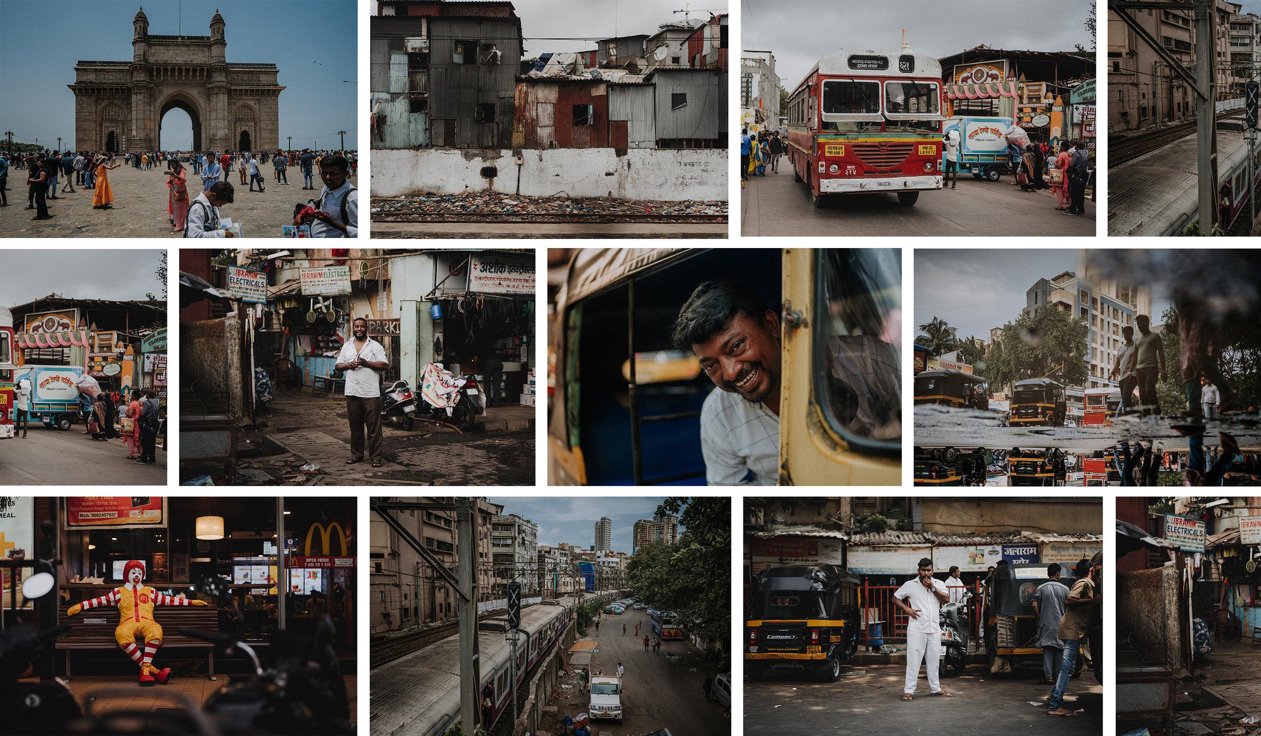 Fotoreportage Mumbai India