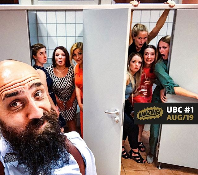 Herzlichen Glückwunsch @derbilderzaehler, unseren Nackt und Unzensiert Sieger im August 2019. #kloselfie #nacktundunzensiert #ubc #unclebobcast #podcast #hochzeitsfotografie