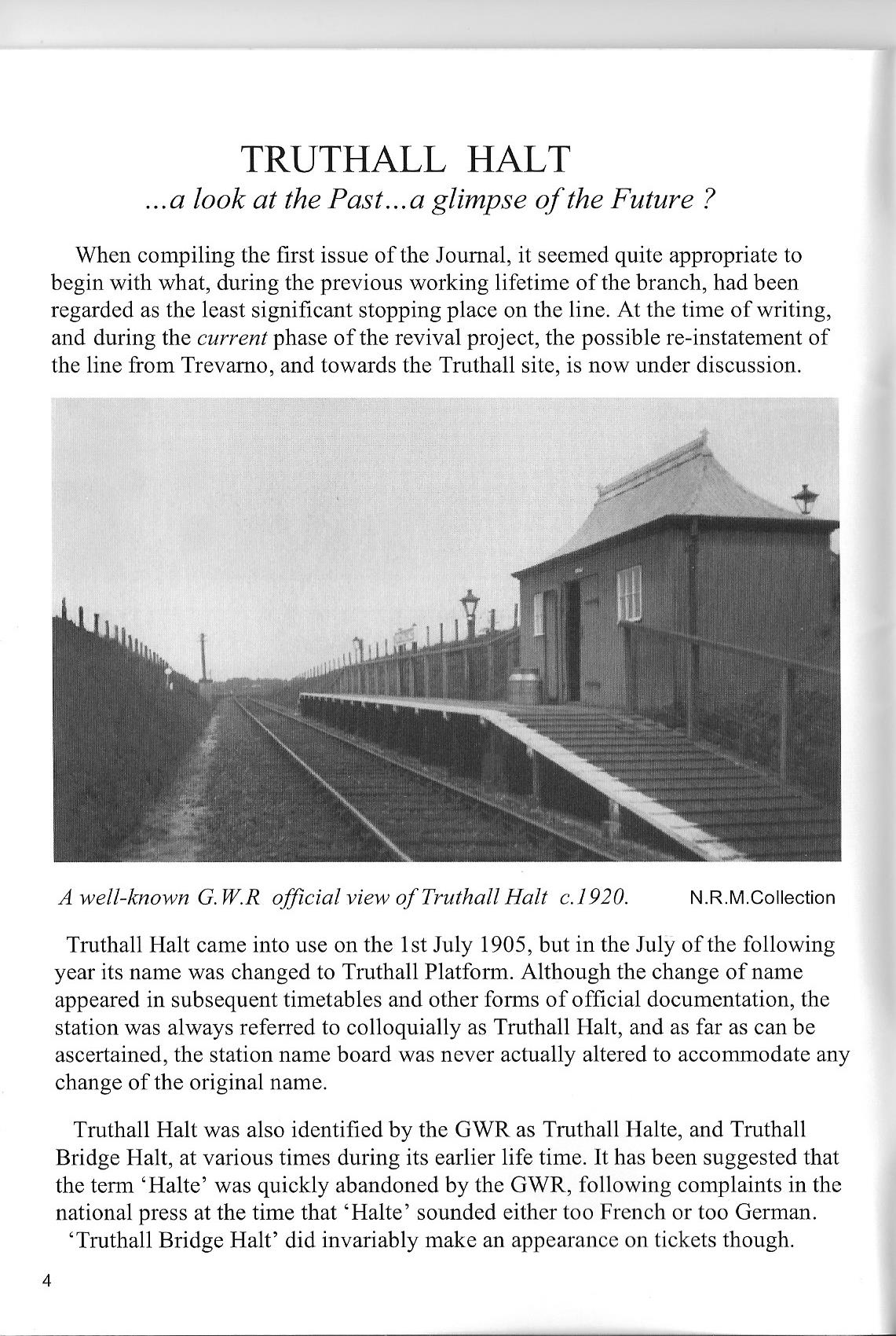 2007 Helston Railway Journal - Truthall 1.jpg