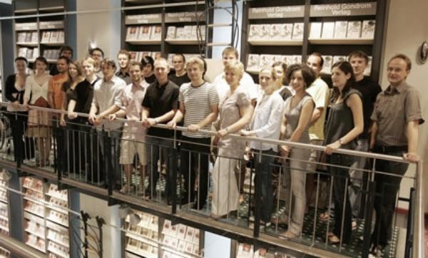 """Die CA 2008 fand vom 28. Juli bis 1. August 2008 in den Räumen der Buchhandlung Thalia (ehem. Gondrom) in Kaiserslautern statt. Gastgeberin war die Evangelische Akademie der Pfalz. Schwerpunkt: """"Diversität und Gerechtigkeit"""""""