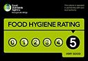 5*Food Hygiene Rating