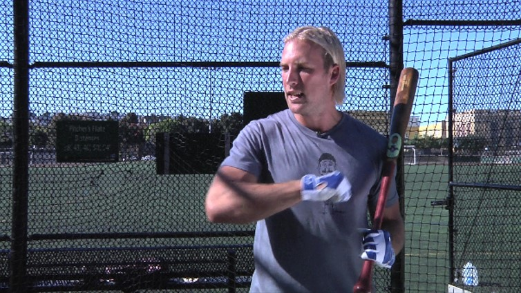 It helps you keep your hands inside the ball resulting in a longer swing plane through the zone - Lars Anderson, MLB Player & Owner of Birdman Bats -