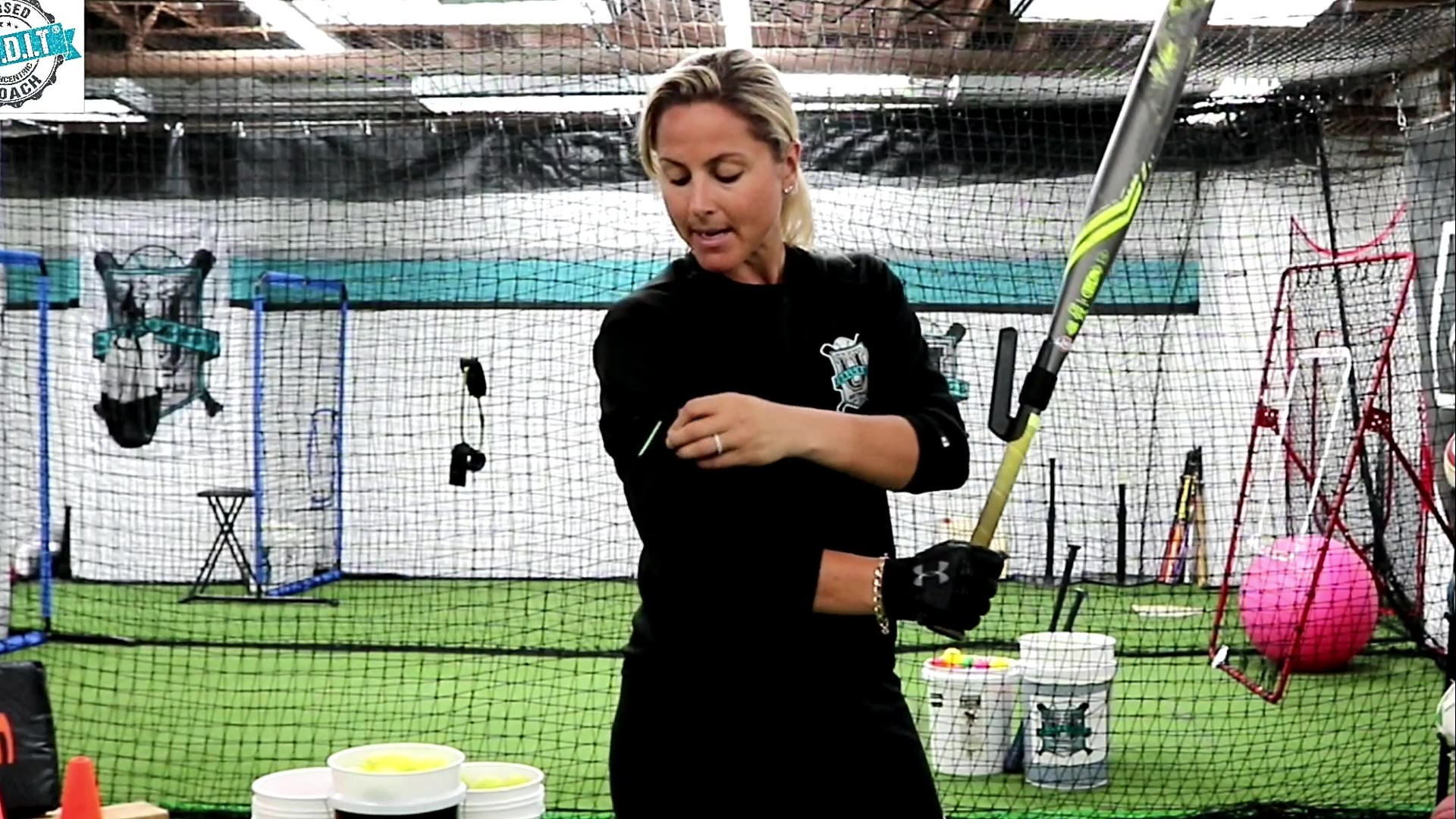 """I absolute love it and believe it in 100%. I 'm a huge advocate of keeping your hands near your deltoid in order to drive the ball with all of your stored up energy and create effortless bat whip through the zone, and all of that is drilled heavily with SWINGRAIL"""