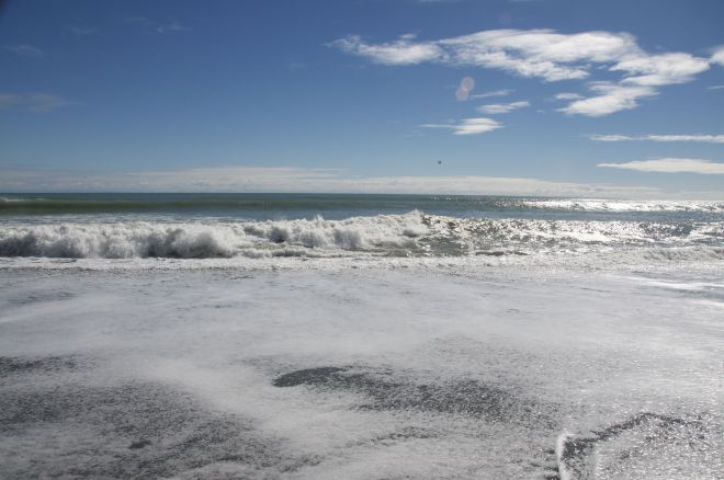Hokitika Beach Side