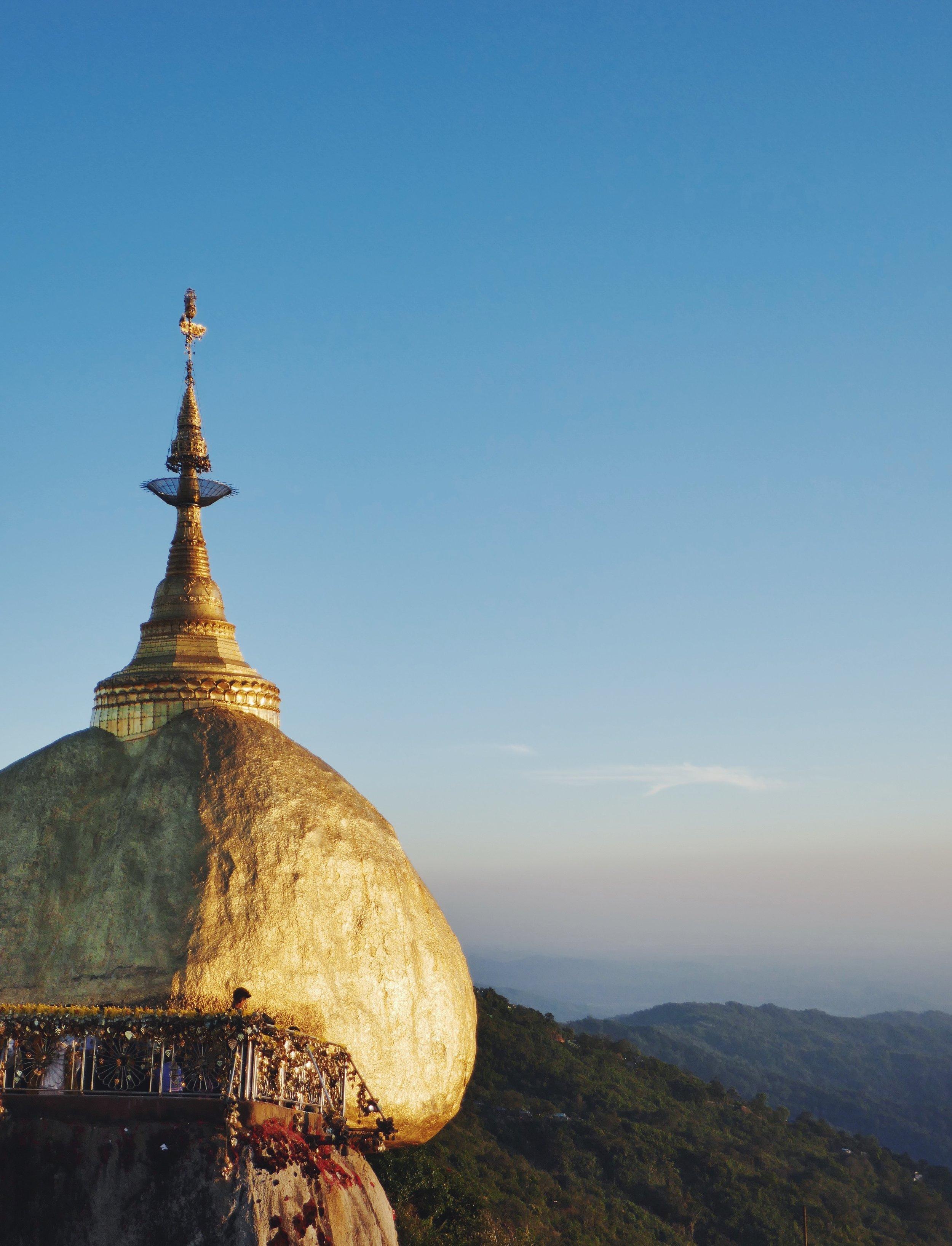 Golden Rock Myanmar Travel