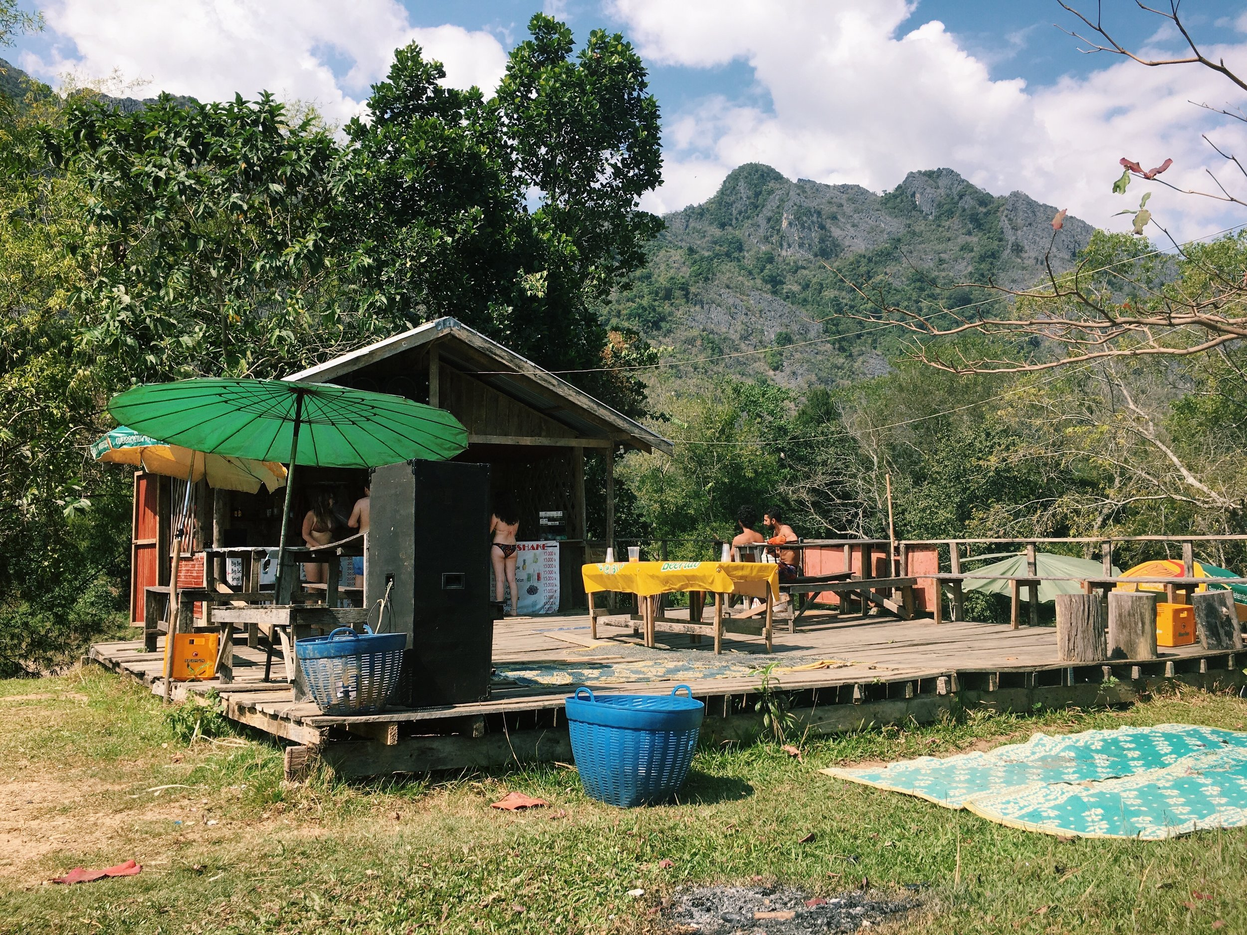 Vang Vieng Tubing Travel Blog