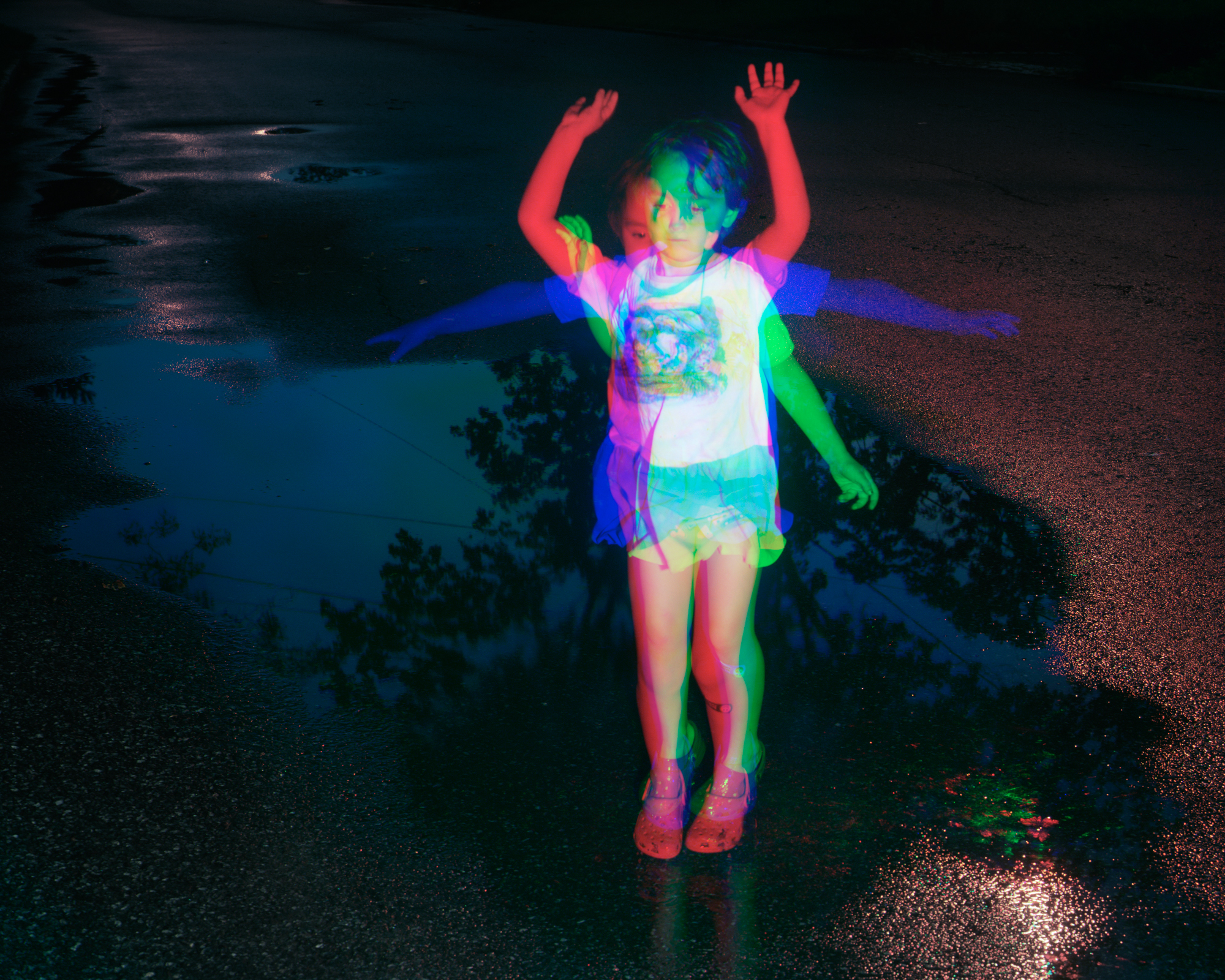 Puddle Stomp , 2015 Archival pigment print 19 x 23.75 in (48.26 x 60.33 cm)