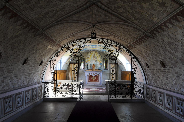 Italian Chapel, interior