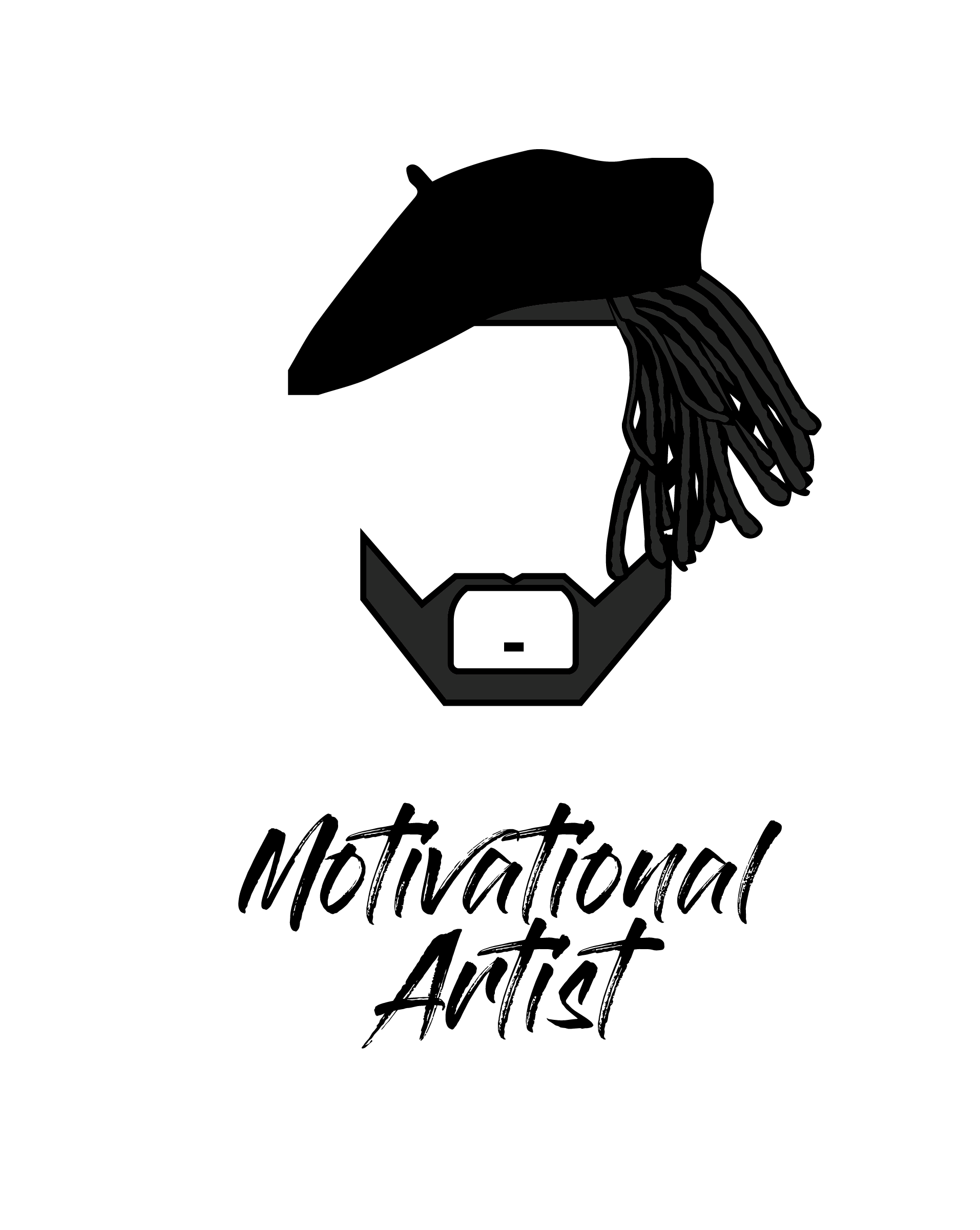 Motivational artist logo