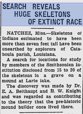 Giant remains Sarasota Herald-Tribune June 28 1933.jpg