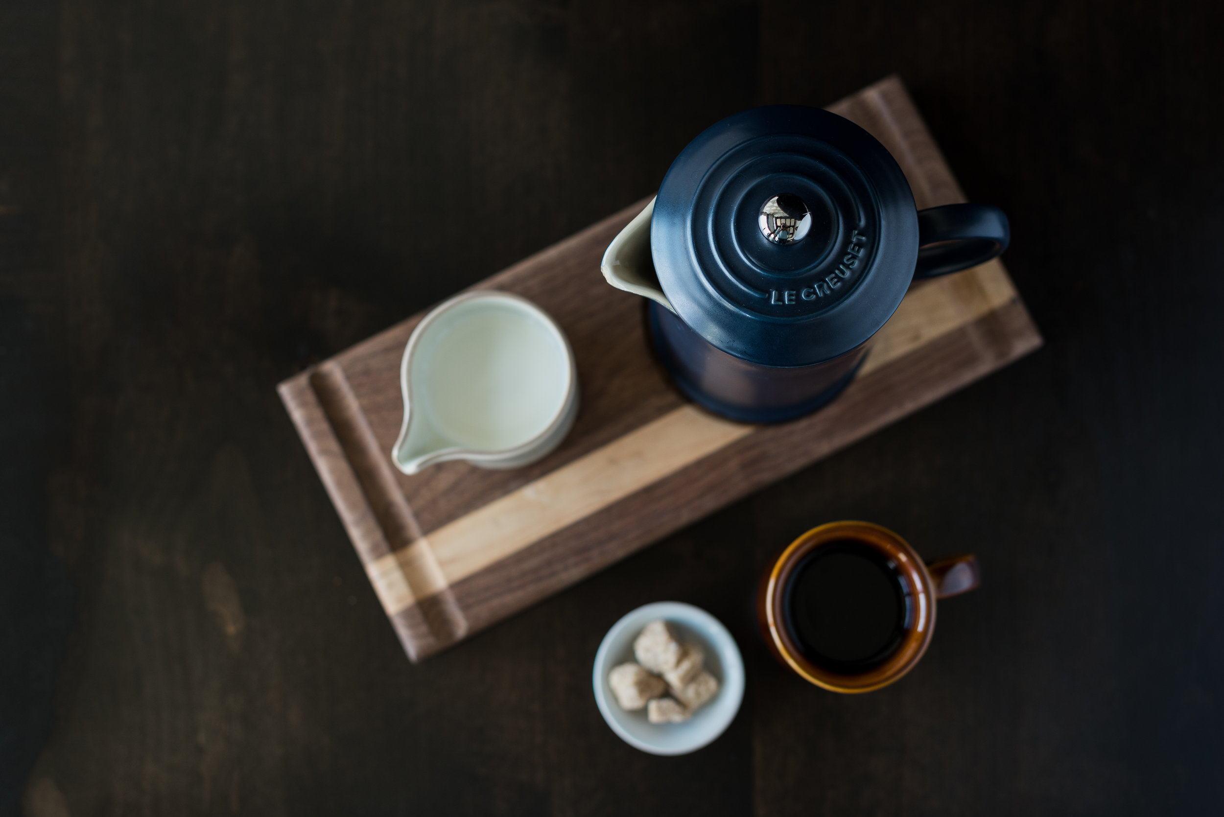 A french press of Denver's Jubilee coffee