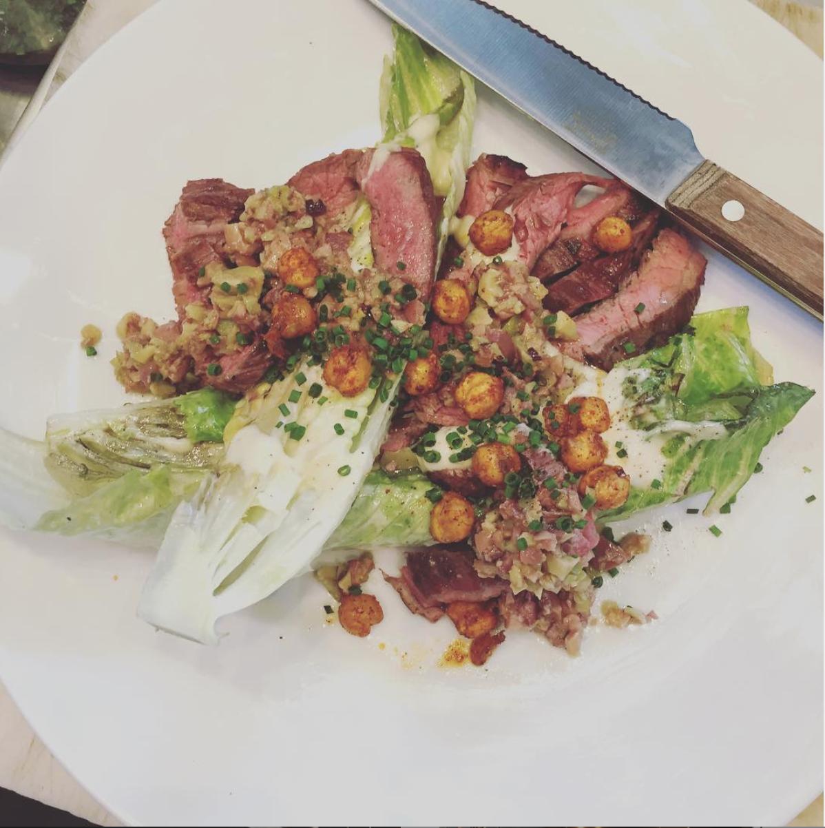 a lighter take on grilled steak (Wall Street Journal)