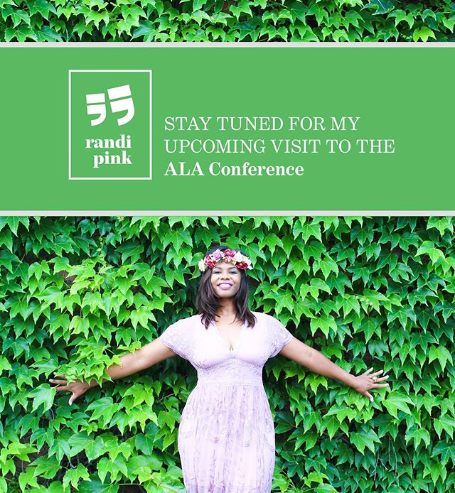 —STAY TUNED! I am super excited to announce my attendance at the ALA Conference in D.C. This is a great opportunity for authors to make connections and come together to promote creativity and education for the future! I can't wait to share my experience! 📗#randipink #alaconference2019