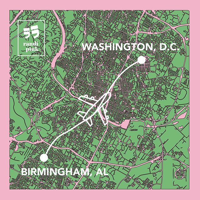 Today is the day! About to take off for my journey from Birmingham to DC for the ALA Conference. I could not be any more EXCITED. I love traveling and sharing such fun experiences like this with you all! I cannot wait to meet some wonderful people this coming weekend and explore our nation's capital! . . . #randipink #alaconference2019 #bham #dc #travel