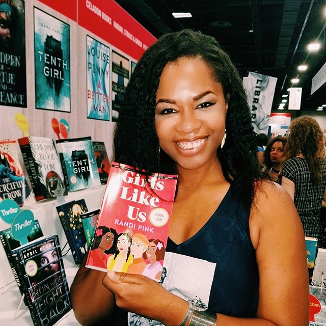 I poured my whole heart into GIRLS LIKE US! I'm so happy to see it making its way into the world at #alaac19 😍 Stop by and grab an ARC (if there are any left!) at Macmillan's booth 1504!