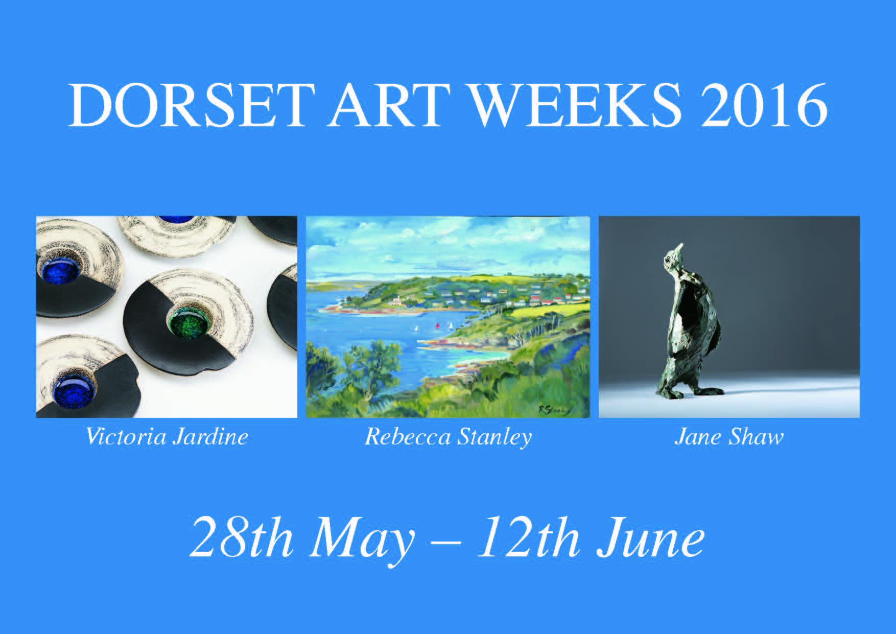 Invitation Card for Dorset Art Weeks - Front