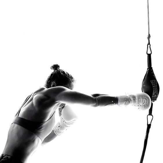Blok - Box & Bell   Boxing is back but this time she's brought her friend Bell - Kettlebell to be precise. Blok in Clapton get you chopping,changing, swinging and swerving with this full-body workout   Imagery from Pinterest:http://bit.ly/2eYRLRp