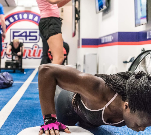 F45 - High Intensity Intervals   High-Intensity Interval, Circuit, and Functional Training came together with some cool technology and kit for a killer 45 minute workout
