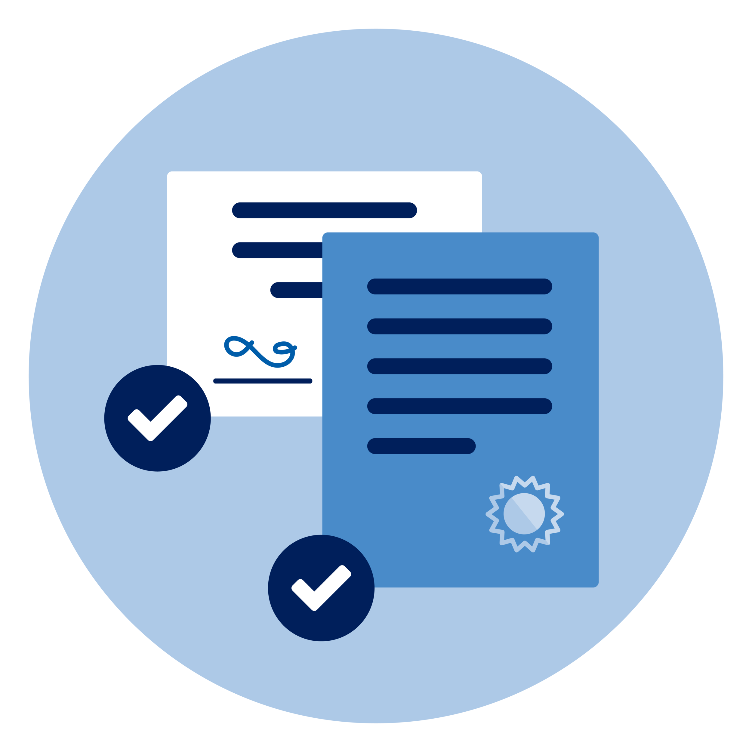 License & Certification Documents
