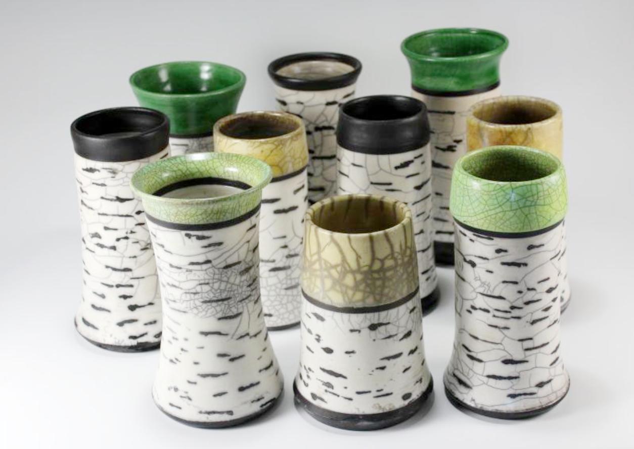 Raku Pottery by Betty Jean Wilcox