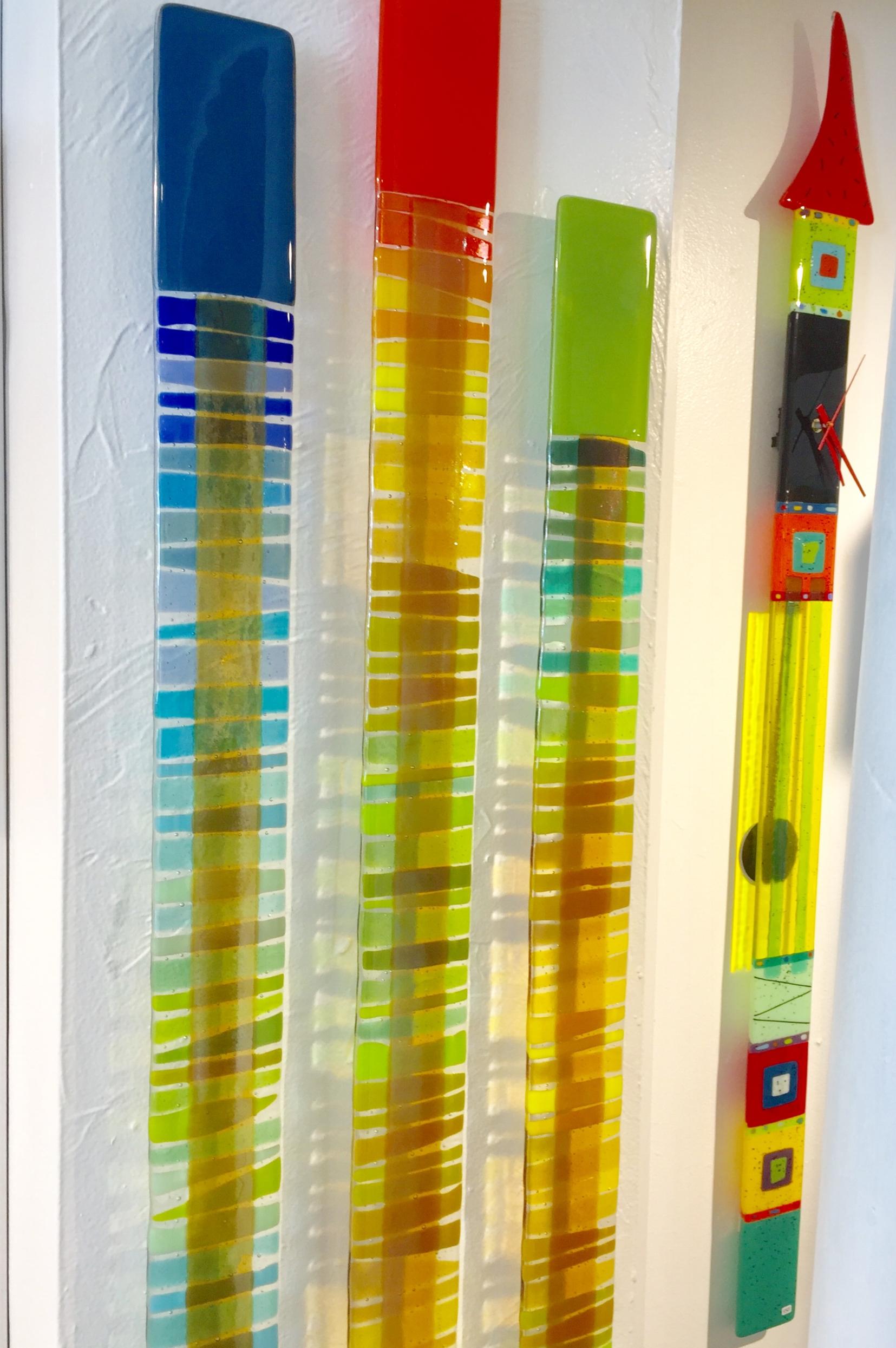 Nina Cambron Glass at Rachel K DeLong Gallery