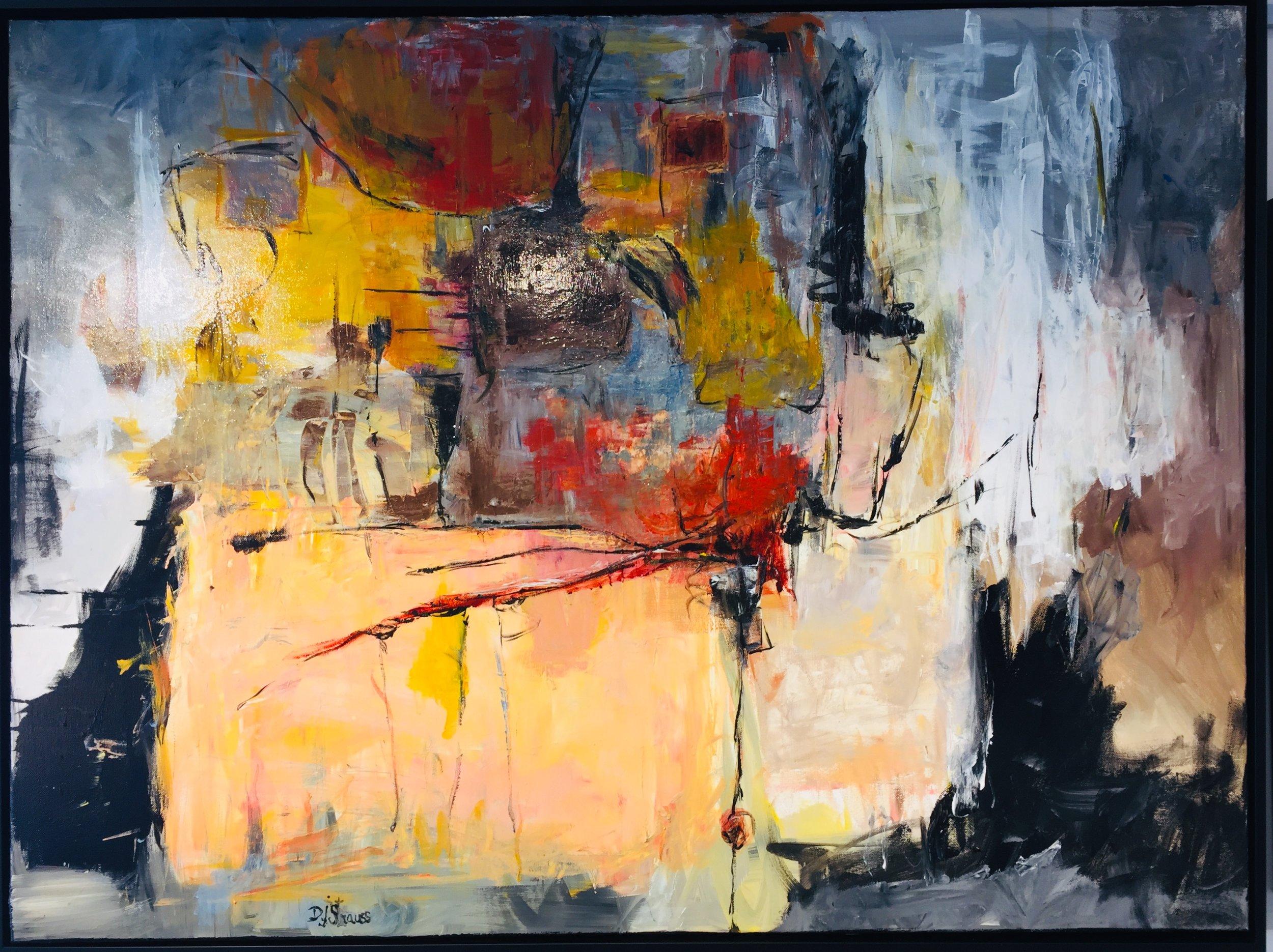 Dorothy J Strauss Art at Rachel K DeLong Gallery