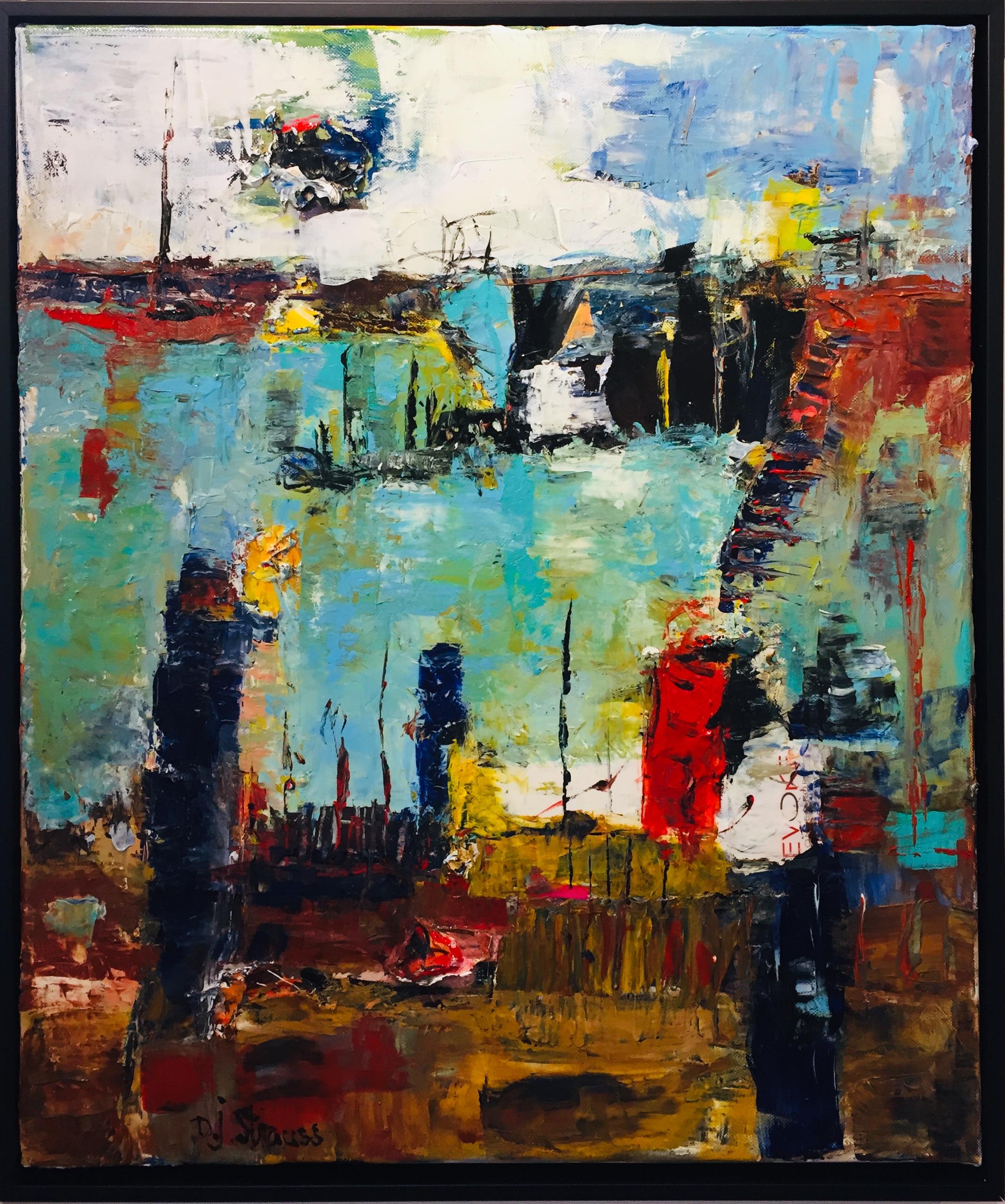 Dorothy J Strauss Paintings at Rachel K DeLong Gallery