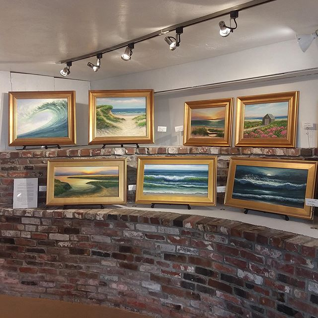 Symphony of Sand & Sea - Laurie Warner Art Opening #wellfleet #capecod #capecodlife #capecodartist #wellfleetartist #wellfleetartgalleries #lauriewarnerstudio