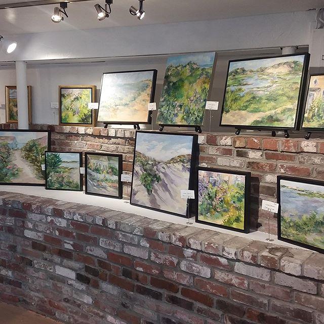 Linda Turoczi's Art Opening - Symphony of Sand & Sea #wellfleet #capecod #capecodlife #wellfleetartgalleries #capecodartist #truro #provincetown #lindaturoczi