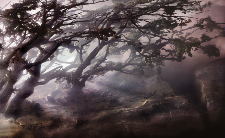 4432 Dunes 20d, 32x49, 44x69, 52x83, 2008,by Kim Keever