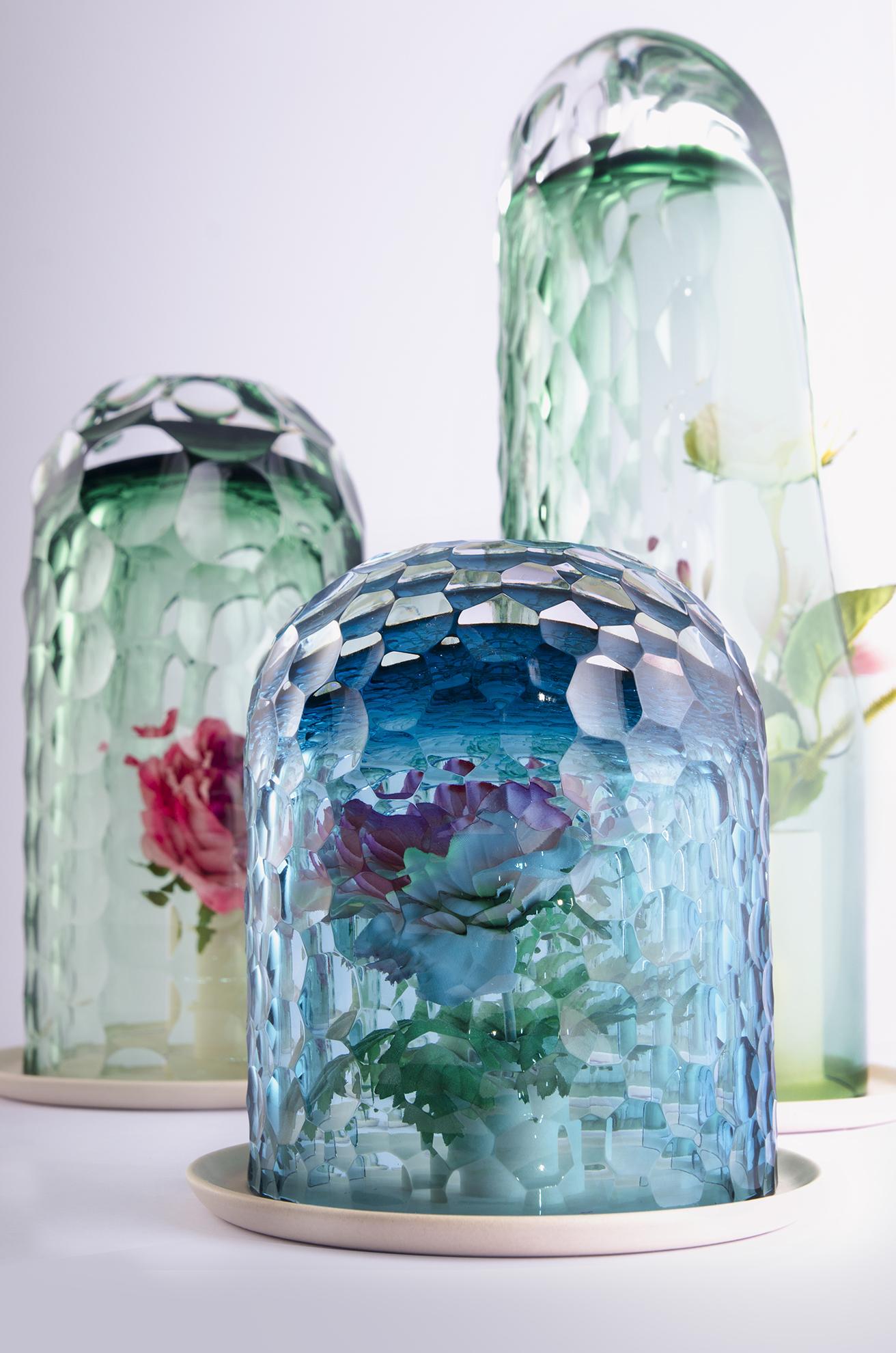 OP-Vase by Bilge Nur Saltik, showcased at Form&Seek's space at Milan Design Week 2016