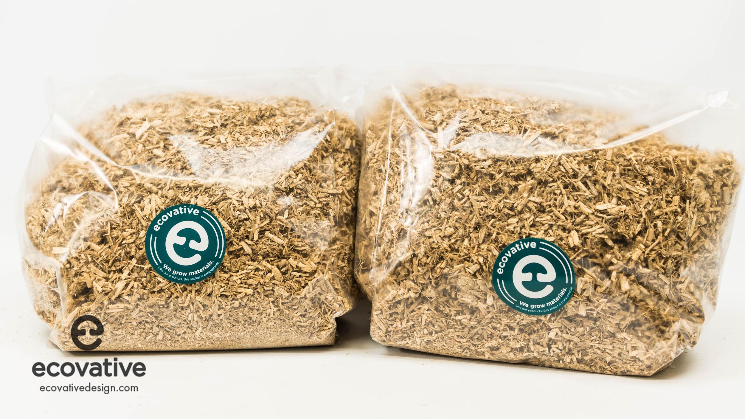 Bags of the Mushroom ®  Material.