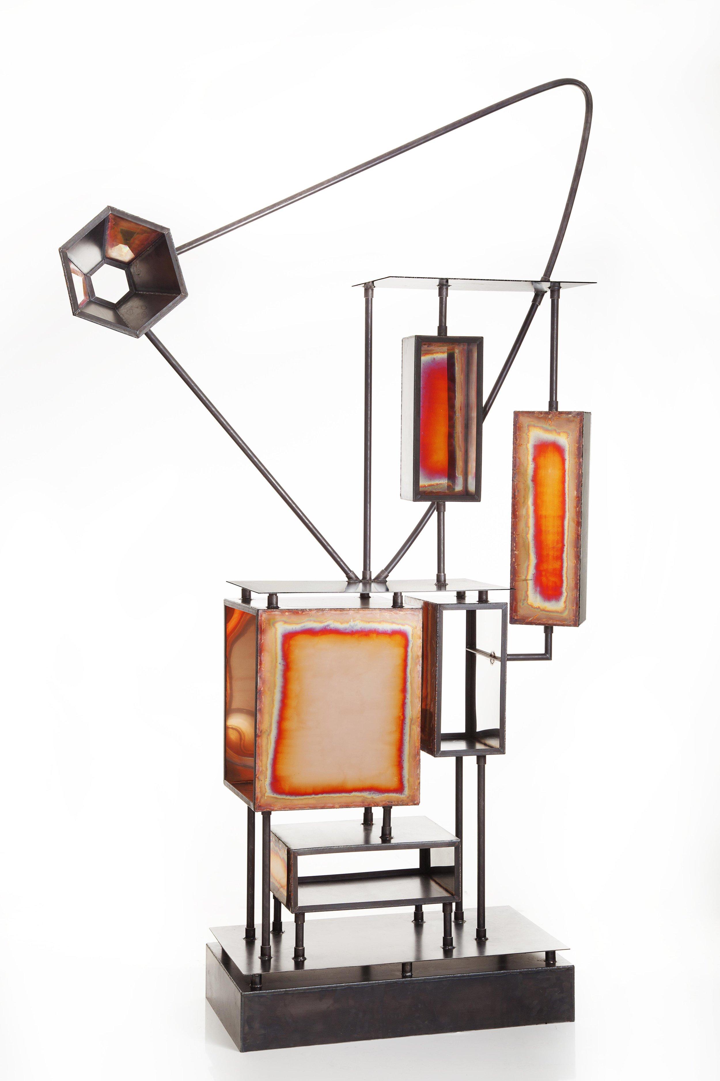 Metal Cupboard  by Michiel Poelmann