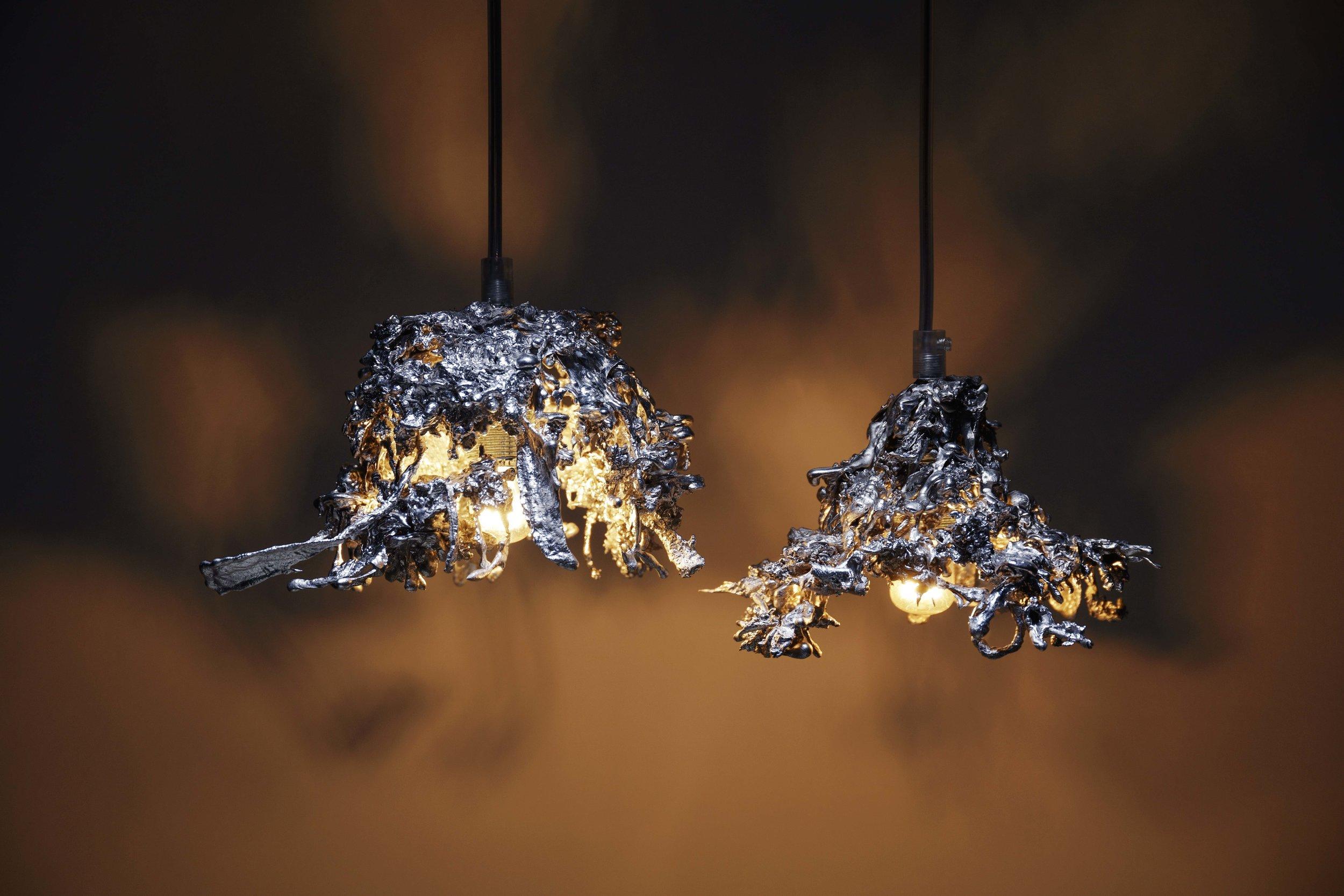 Tin Pendent Light  by Michiel Poelmann