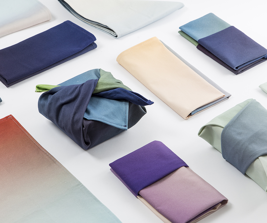 The  Hues Kitchen Cloths  by Rive Roshan debut at the London Design Festival this week. They can be seen and purchased at the Form&Seek Pop-Shop in BOXPARK, Shoreditch, London till September 25, 2016.