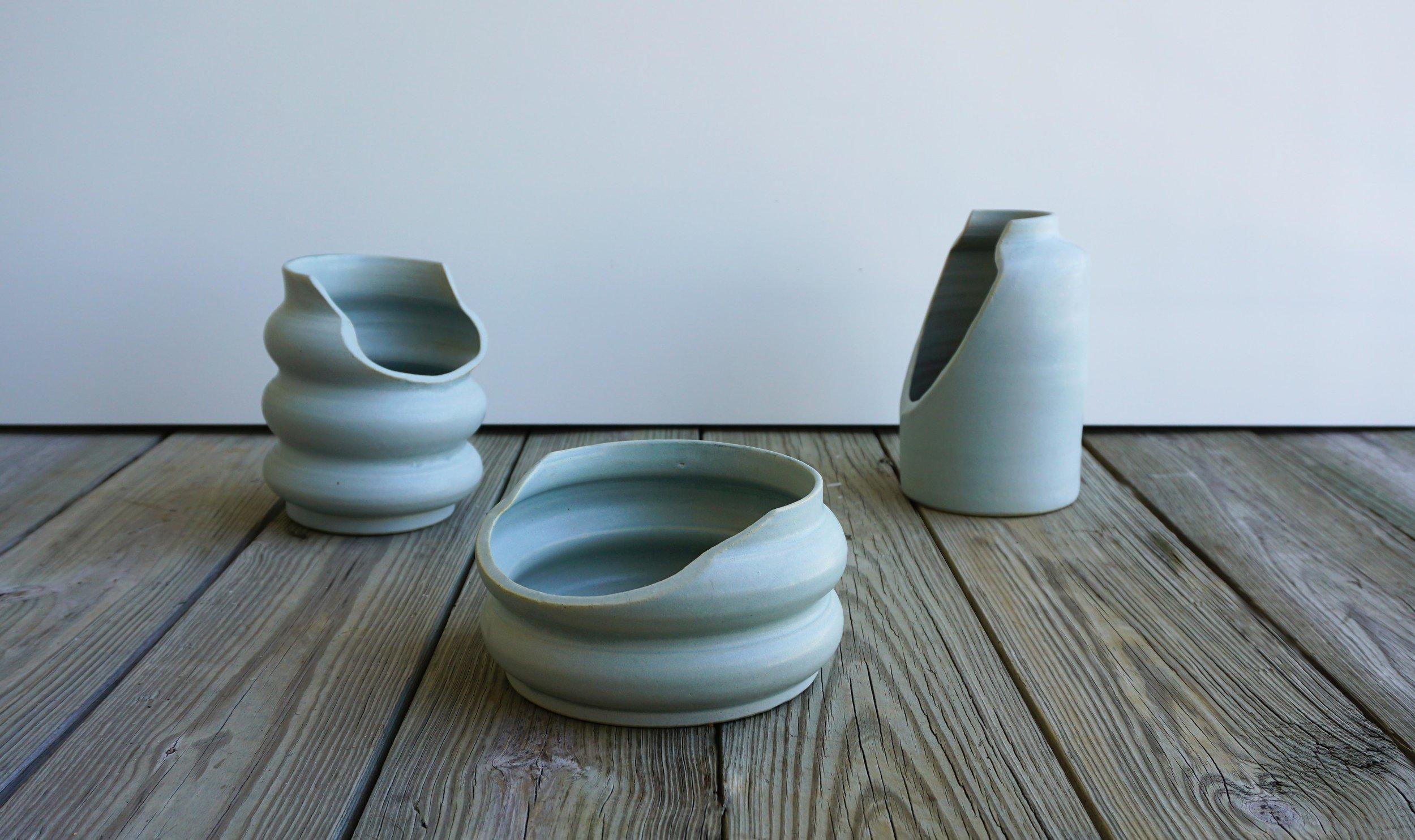 The  Compromise   collection of vessels by Bilge Nur Saltik